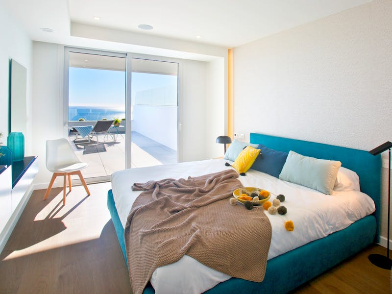 30 luxury apartments with sea and mountain views of 2 and 3 bedrooms in Cumbre del Sol. 6