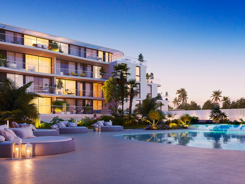 Denia Beach - 1, 2 and 3 bedroom apartments with terrace overlooking the sea or with views over the Montgó mountain, at the beach of La Almadraba beach 11