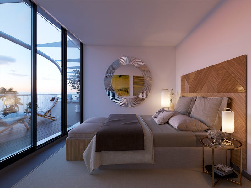 Denia Beach - 1, 2 and 3 bedroom apartments with terrace overlooking the sea or with views over the Montgó mountain, at the beach of La Almadraba beach 12