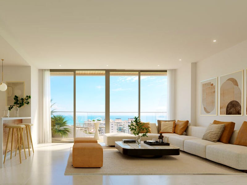 2 and 3 bedroom apartments in a complex next to the sea in Playa San Juan 11