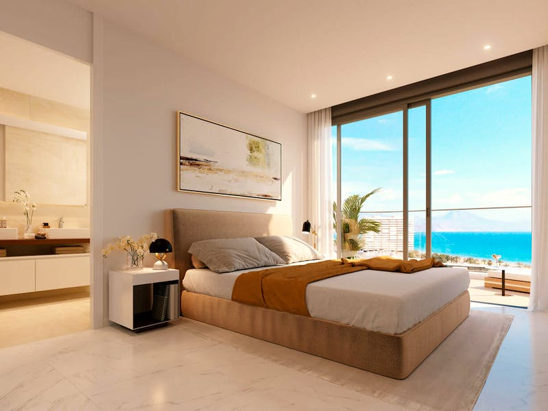2 and 3 bedroom apartments in a complex next to the sea in Playa San Juan 13
