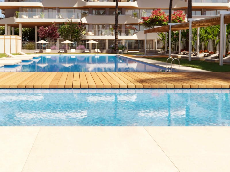 2 and 3 bedroom apartments in a complex next to the sea in Playa San Juan 16