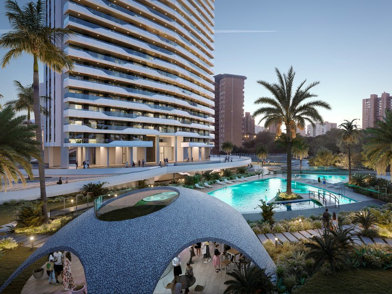 Exclusive apartments in the beautiful location of Benidorm 2