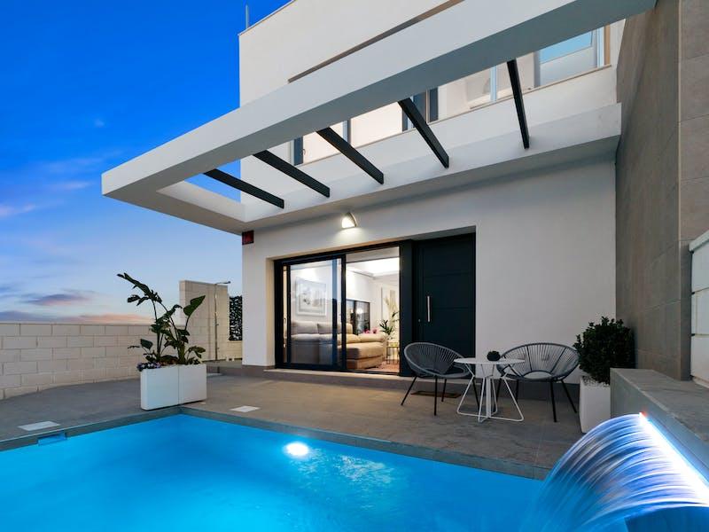 3 bedroom townhouses of modern design near Villamartín Golf, Orihuela Costa 1