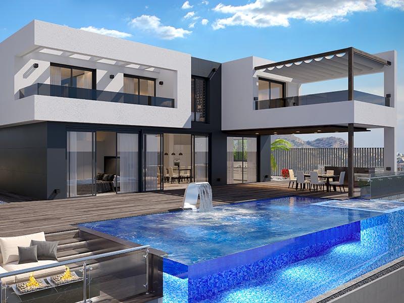 Villas in Finestrat 1