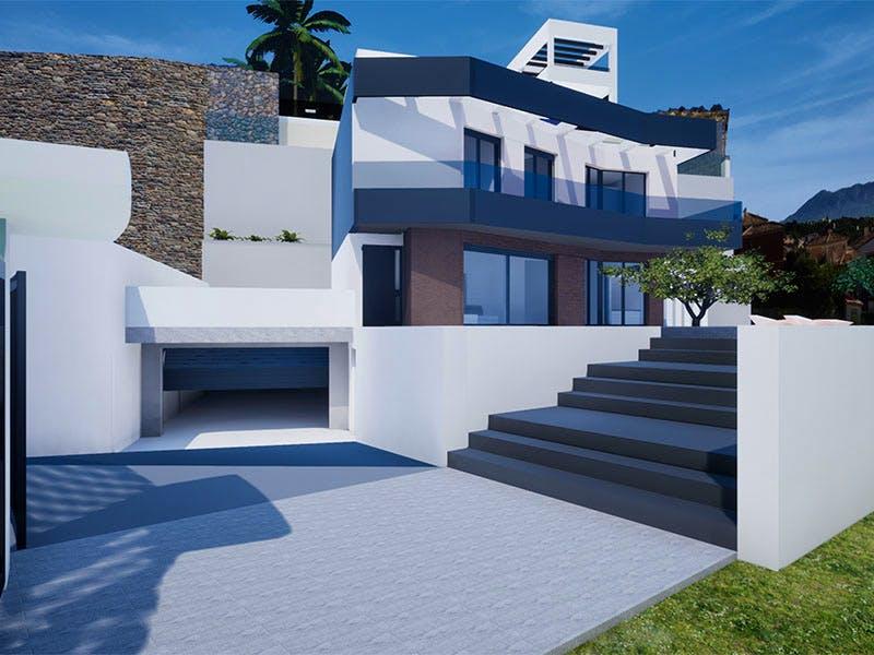 Villas in Finestrat 6
