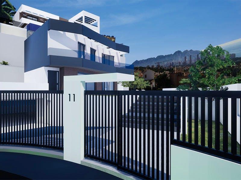 Villas in Finestrat 4