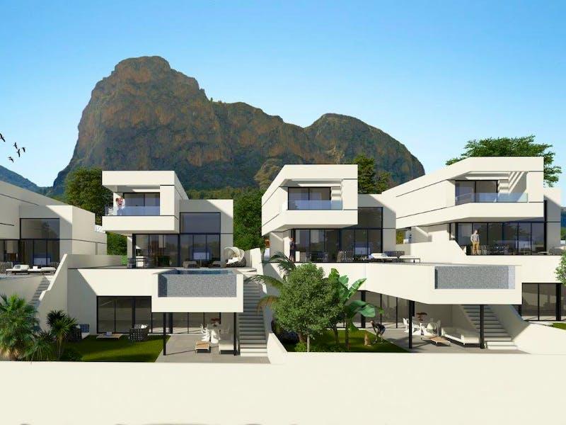 Villas in Polop 3