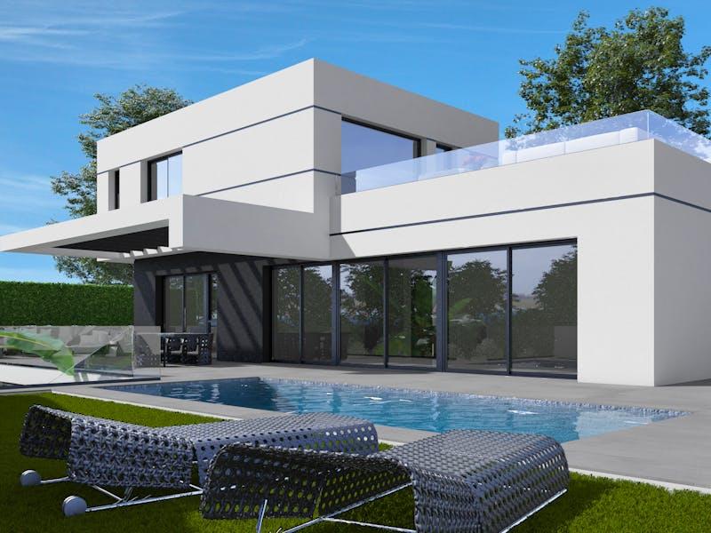 Villas in Polop 0