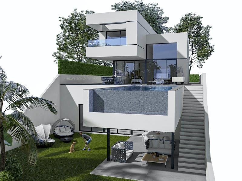 Villas in Polop 2