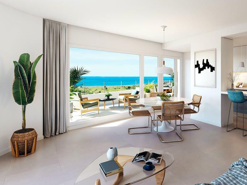 Beachfront homes on the Valencian coast 12