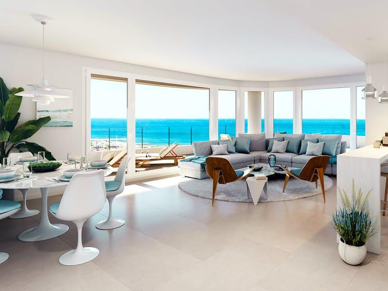 Beachfront homes on the Valencian coast 11