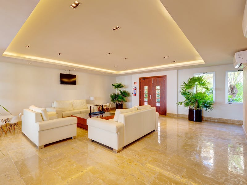 Luxury homes with private beach in Cancun 75