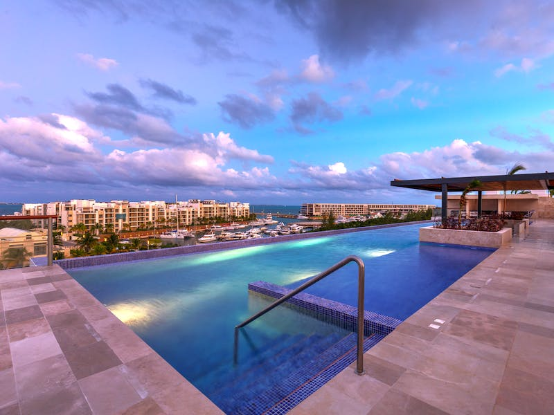 Luxury homes with private beach in Cancun 68