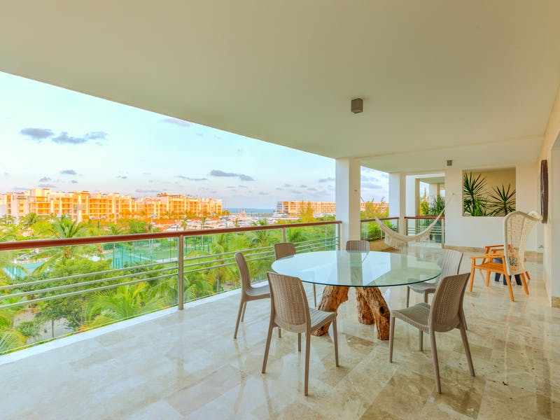 Luxury homes with private beach in Cancun 114