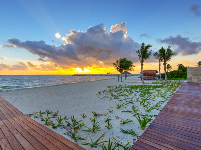 Luxury homes with private beach in Cancun 62