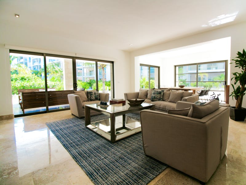 Luxury homes with private beach in Cancun 129