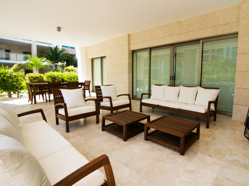 Luxury homes with private beach in Cancun 127