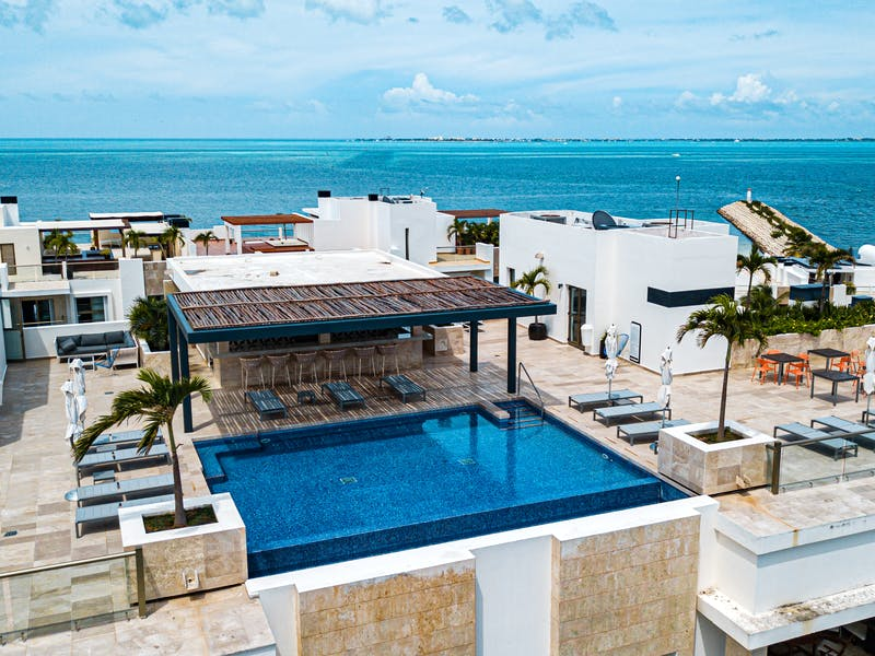 Luxury homes with private beach in Cancun 106