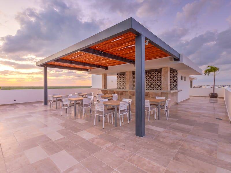Luxury homes with private beach in Cancun 60