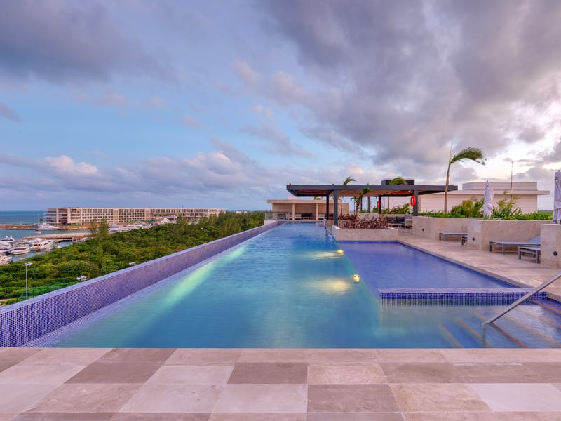Luxury homes with private beach in Cancun 63