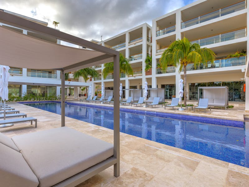 Luxury homes with private beach in Cancun 47