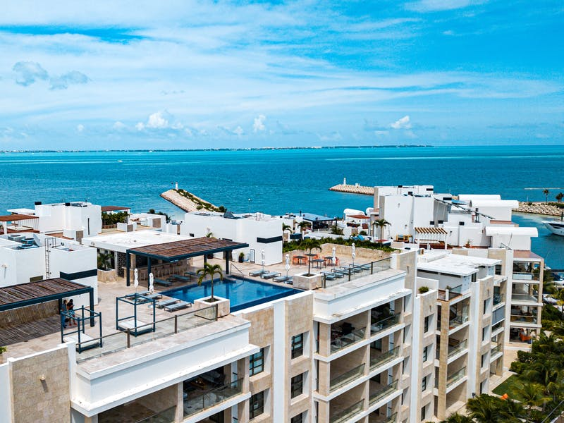 Luxury homes with private beach in Cancun 105