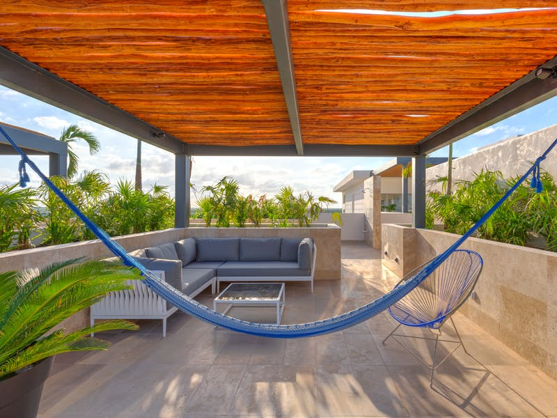 Luxury homes with private beach in Cancun 57
