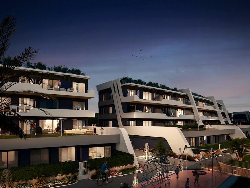 New build properties in Alfaz del Pi 10