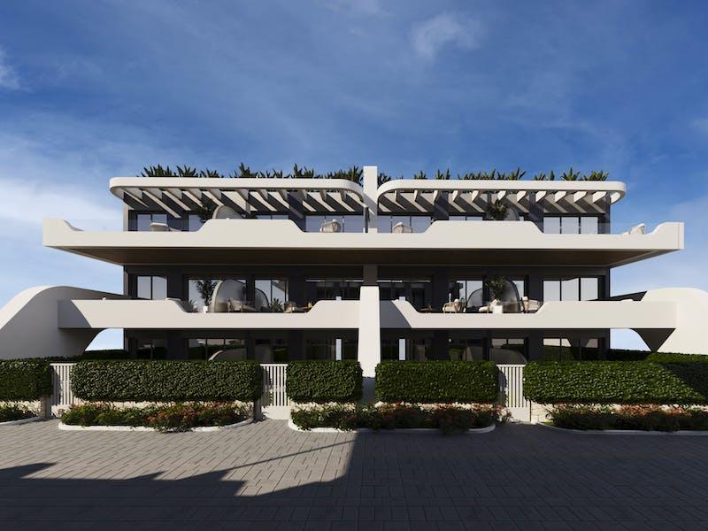 New build properties in Alfaz del Pi 18