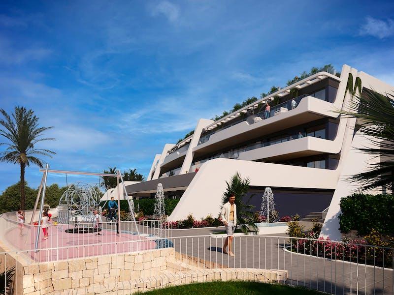 New build properties in Alfaz del Pi 9